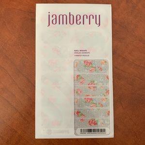 Jamberry December 2015 Hostess Wrap. Full sheet.